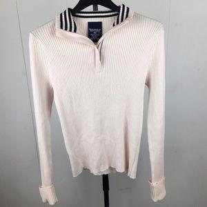 Polo Jeans Ralph Lauren Women's Half-Zip Sweater M